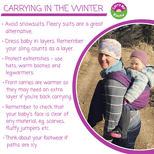 Carrying in the winter