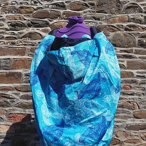 Lightweight waterproof sling cover